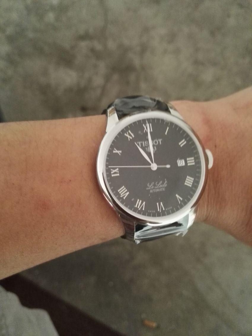 天梭T41.1.423.53手表【表友晒单作业】第一次在万...