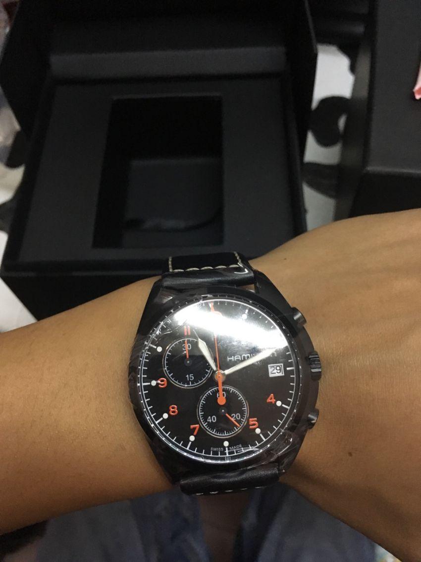 汉米尔顿H76582733手表【表友晒单作业】表收到的时...