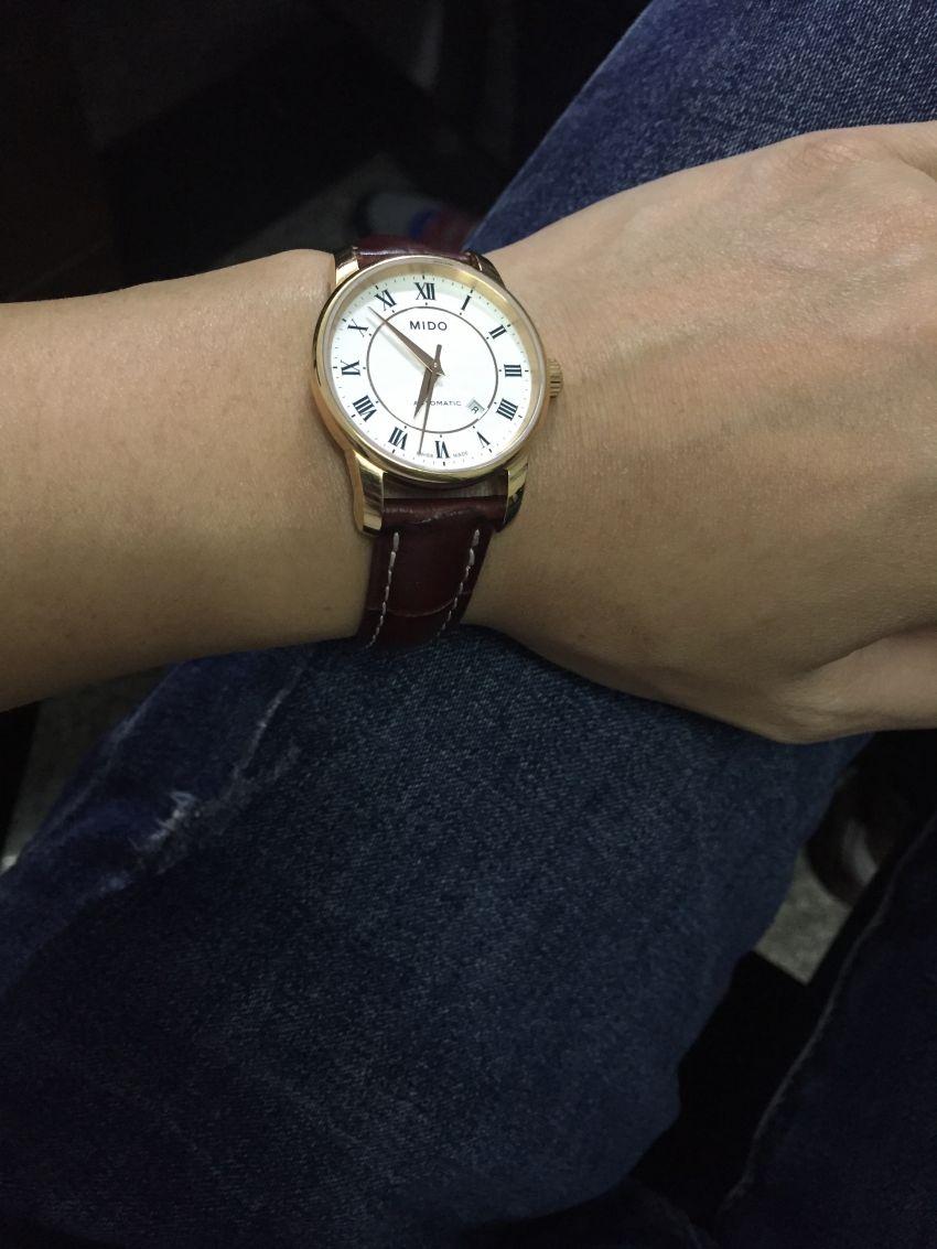 美度M7600.2.21.8手表【表友晒单作业】表很漂亮,...