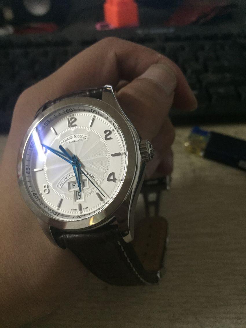 艾美达9740A-AG-P974MR2手表【表友晒单作业】物流很快,...
