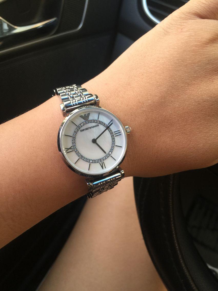 阿玛尼AR1908手表【表友晒单作业】本来想买M...