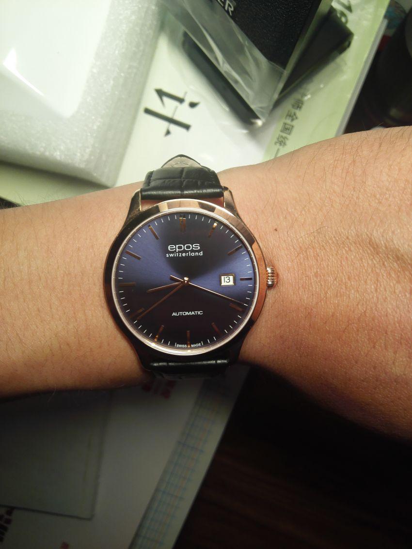 爱宝时3420.152.24.16.15手表【表友晒单作业】手表收到了...