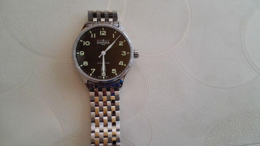 迪沃斯16145650手表【表友晒单作业】手表发货快...