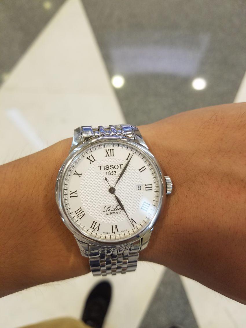 天梭T41.1.483.33手表【表友晒单作业】第一次在万...