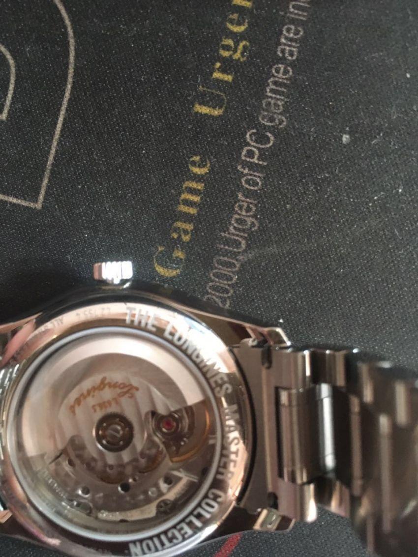 浪琴L2.755.4.78.6手表【表友晒单作业】走时很精准...