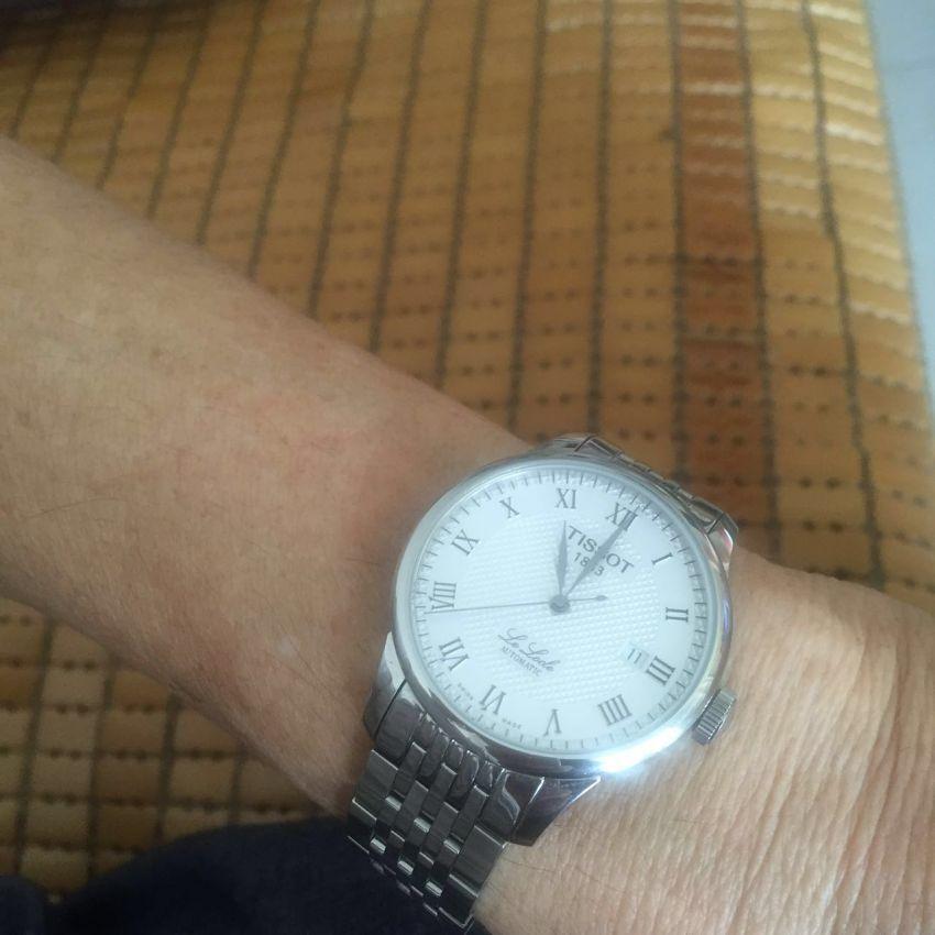 天梭T41.1.483.33手表【表友晒单作业】老爸很喜欢...
