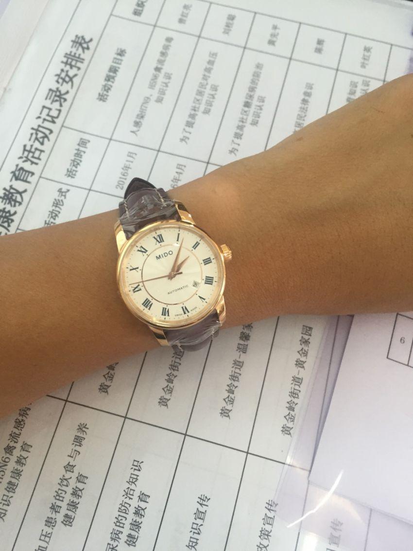 美度M7600.2.21.8手表【表友晒单作业】这个表我看...