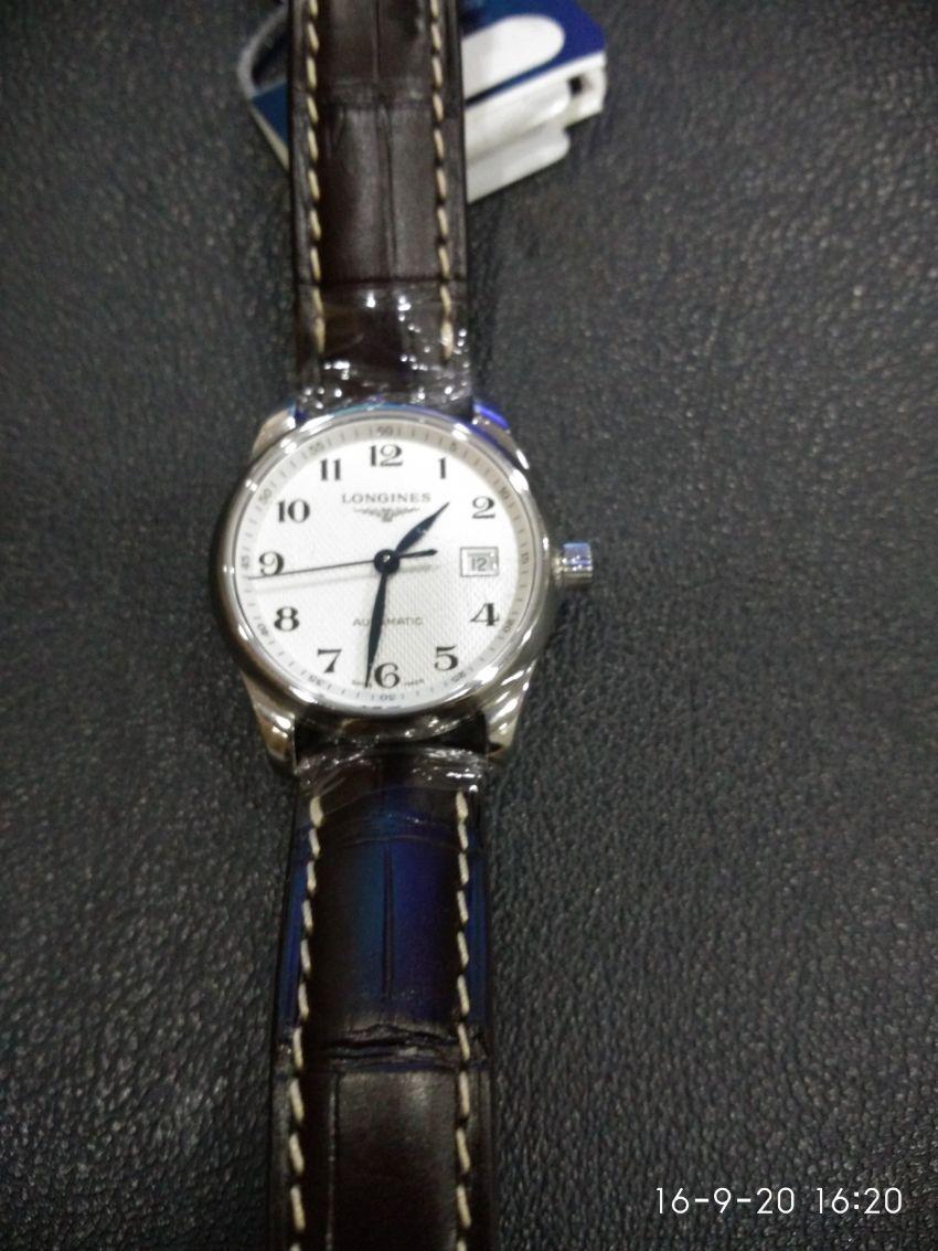 浪琴L2.257.4.78.3手表【表友晒单作业】很快就收到...