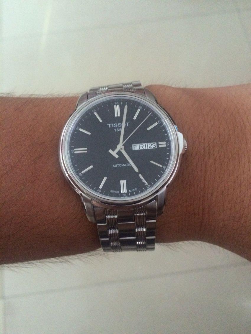 天梭T065.430.11.051.00手表【表友晒单作业】包装精美、...