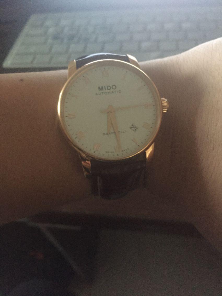 美度M8600.2.26.8手表【表友晒单作业】超帅!泡妞...