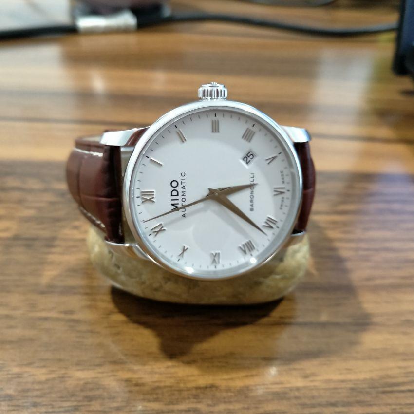 美度M8600.4.26.8手表【表友晒单作业】很不错的,...