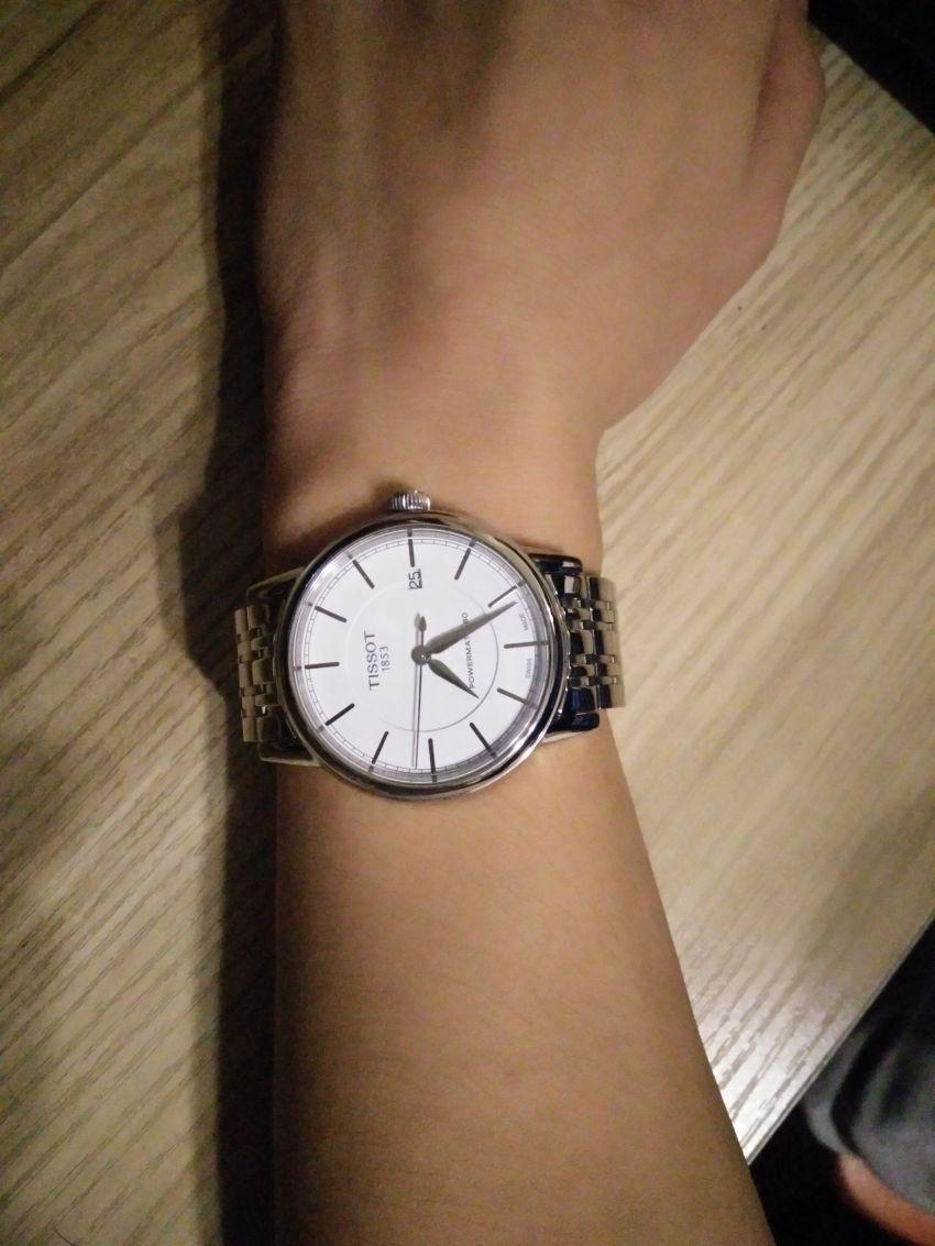 天梭T085.407.11.011.00手表【表友晒单作业】购买这款表...