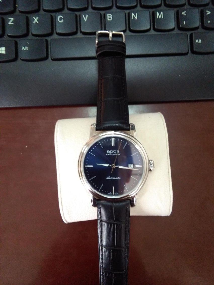 爱宝时3390.152.20.16.25手表【表友晒单作业】头一次在网...