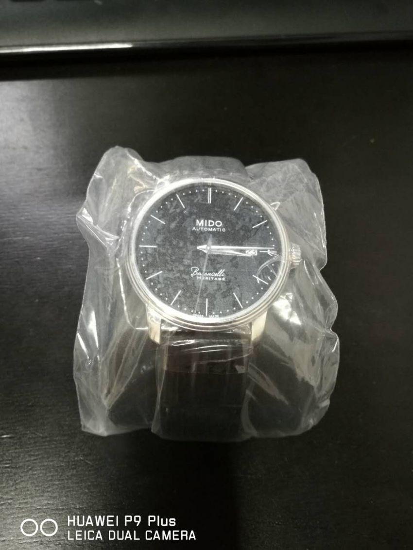 美度M027.407.16.050.00手表【表友晒单作业】带了快一个...