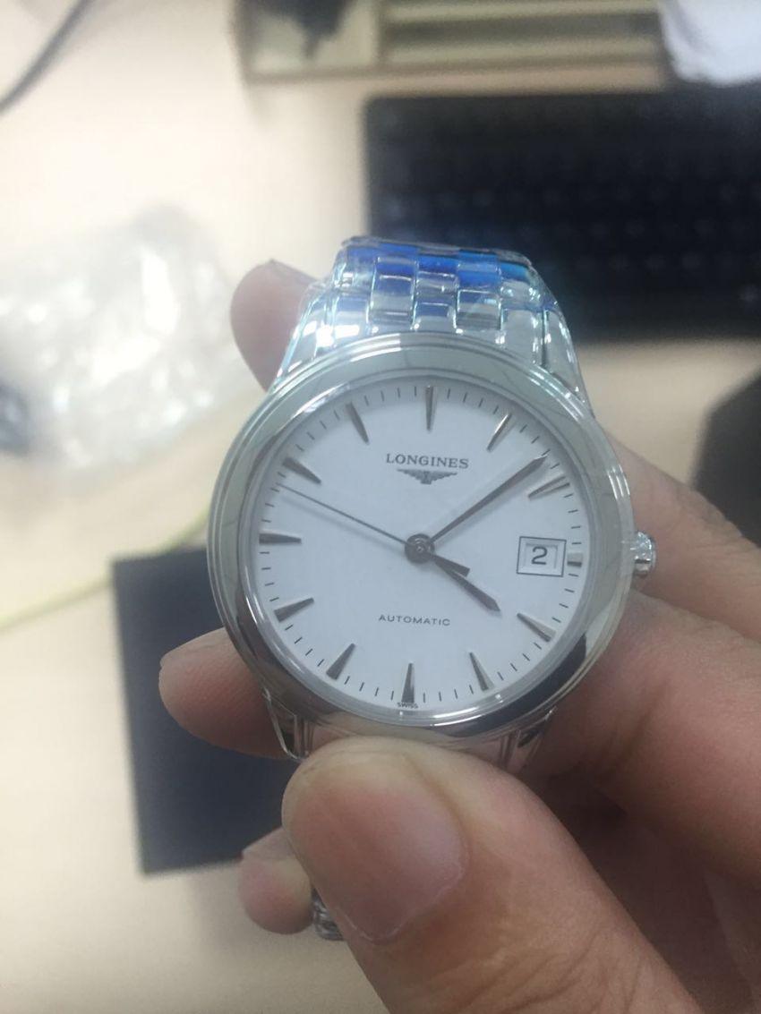 浪琴L4.774.4.12.6手表【表友晒单作业】今天收到的...