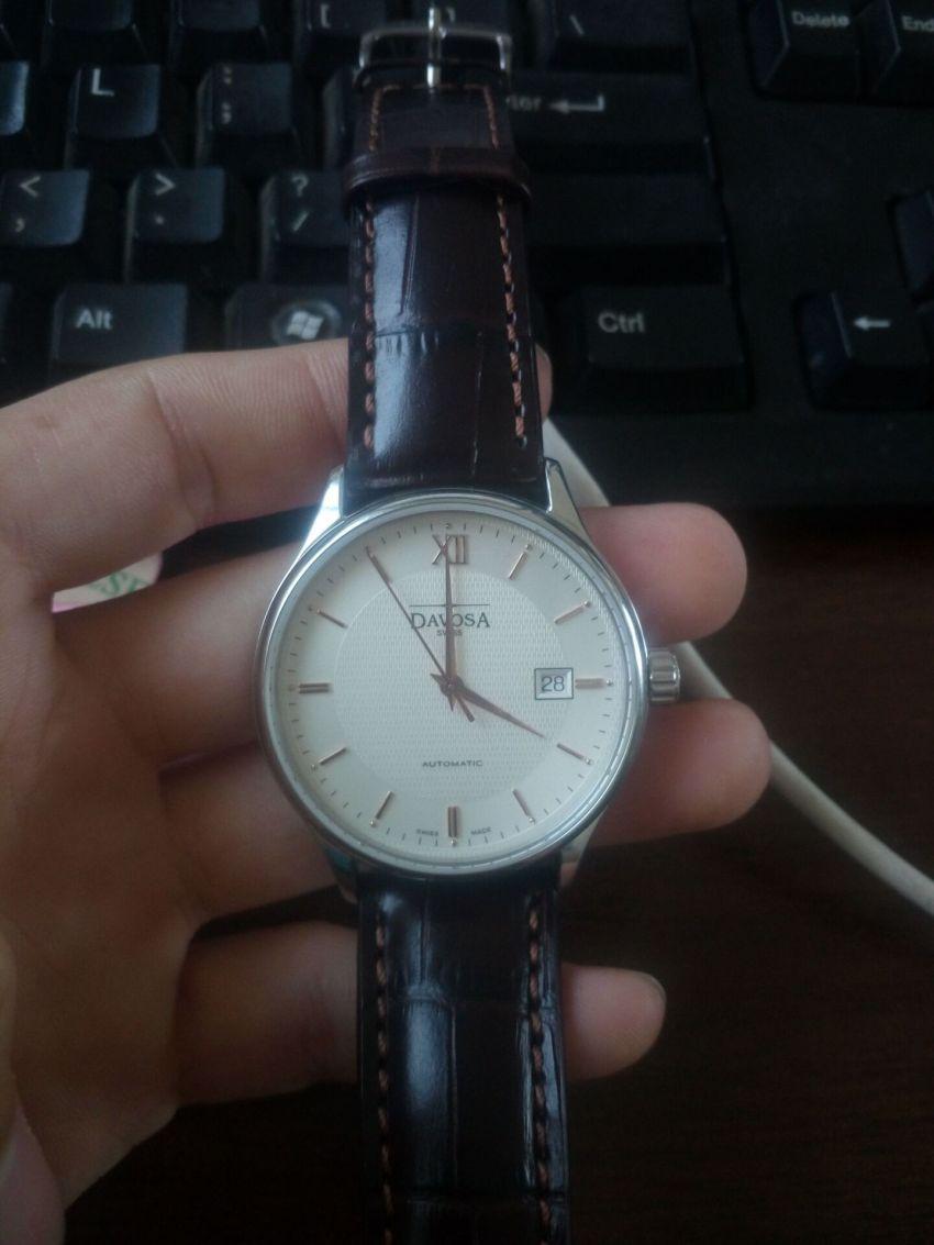 迪沃斯16145632手表【表友晒单作业】表很好...