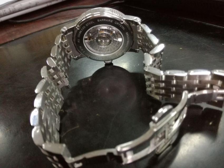 爱宝时3390.152.20.10.30手表【表友晒单作业】手表戴着很...