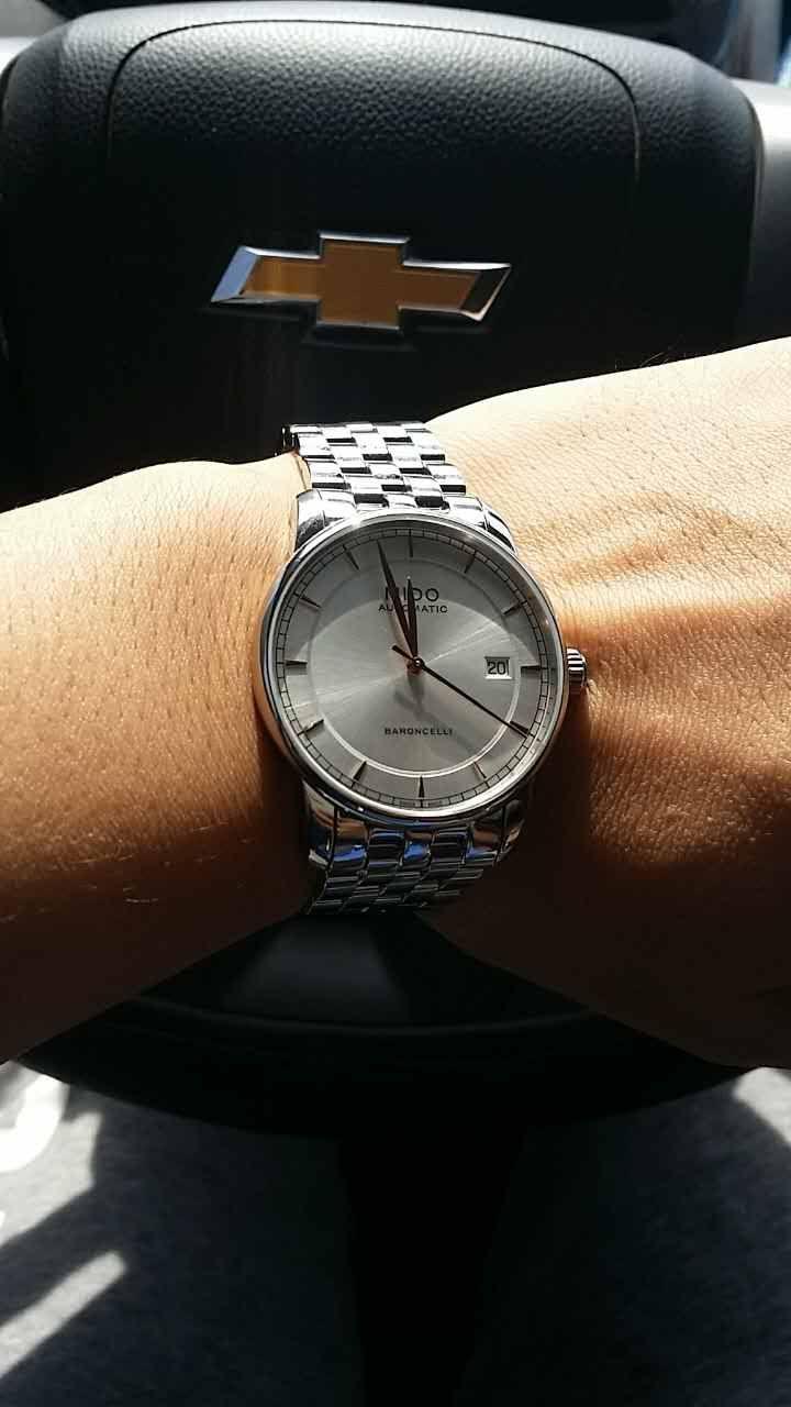 美度M8600.4.10.1手表【表友晒单作业】首先要表扬...