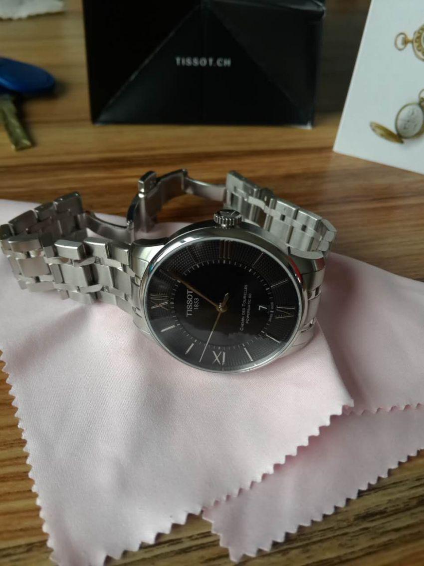 天梭T099.407.11.058.00手表【表友晒单作业】表是真品,...