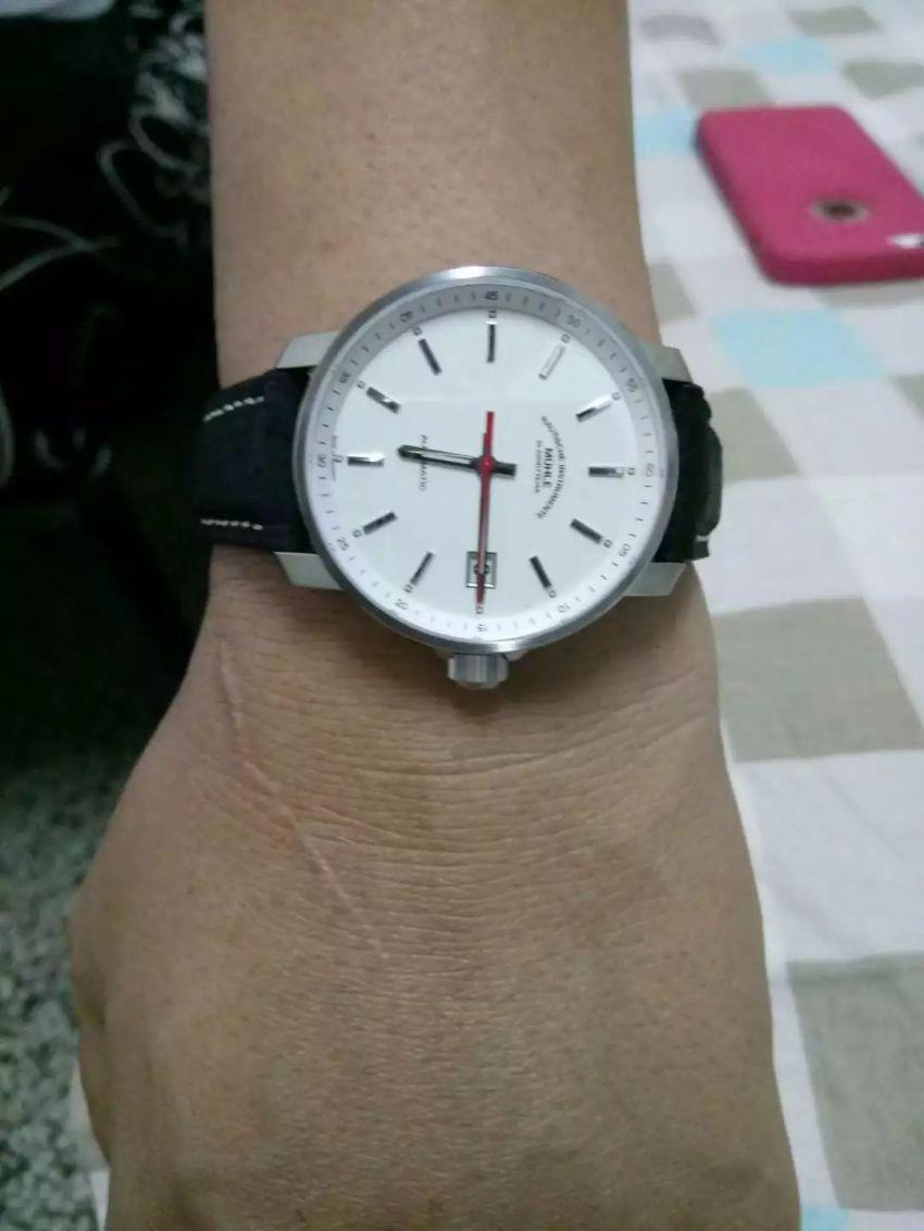 格拉苏蒂·莫勒M1-25-21-LB手表【表友晒单作业】表很酷,外...