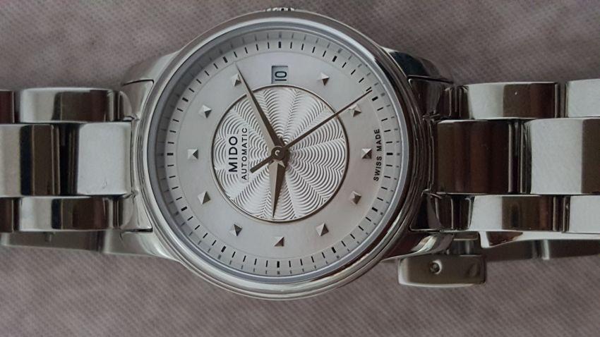 美度M010.007.11.111.00手表【表友晒单作业】给妻子选购...