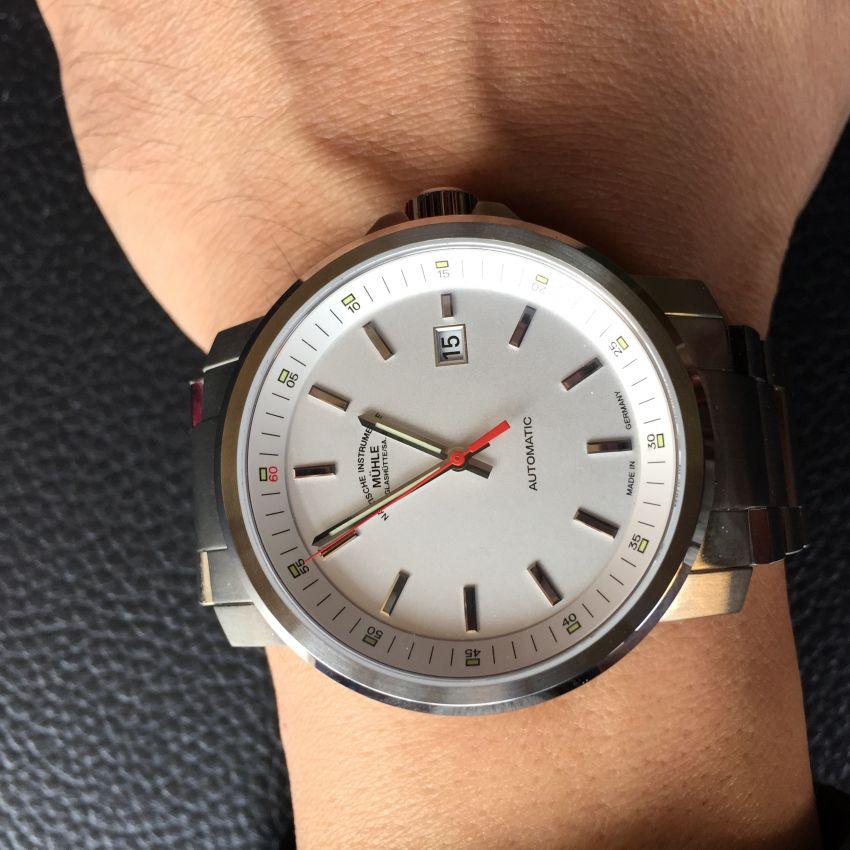 格拉苏蒂·莫勒M1-25-31-MB手表【表友晒单作业】之前在万表...
