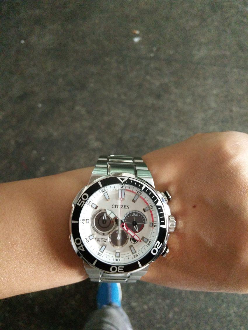西铁城CA4250-54A手表【表友晒单作业】试戴了好几...