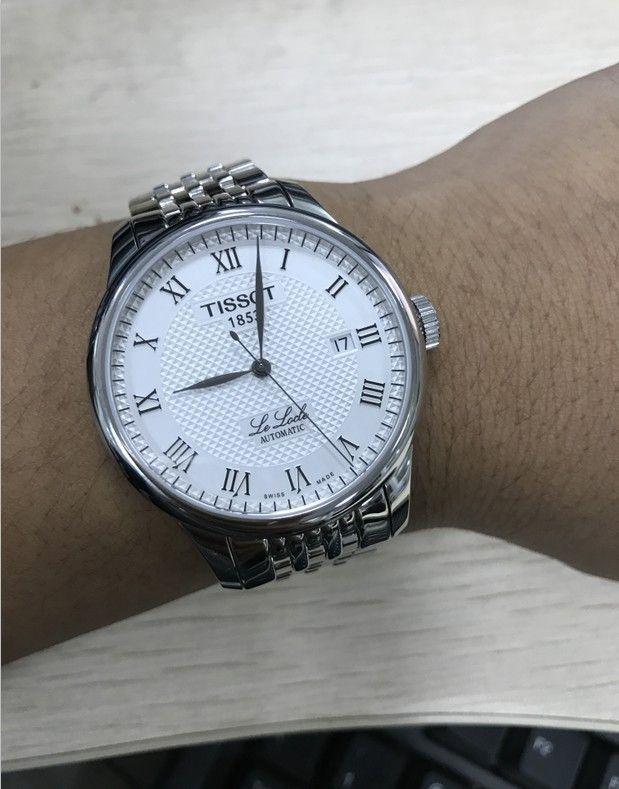 天梭T41.1.483.33手表【表友晒单作业】表太漂亮了...