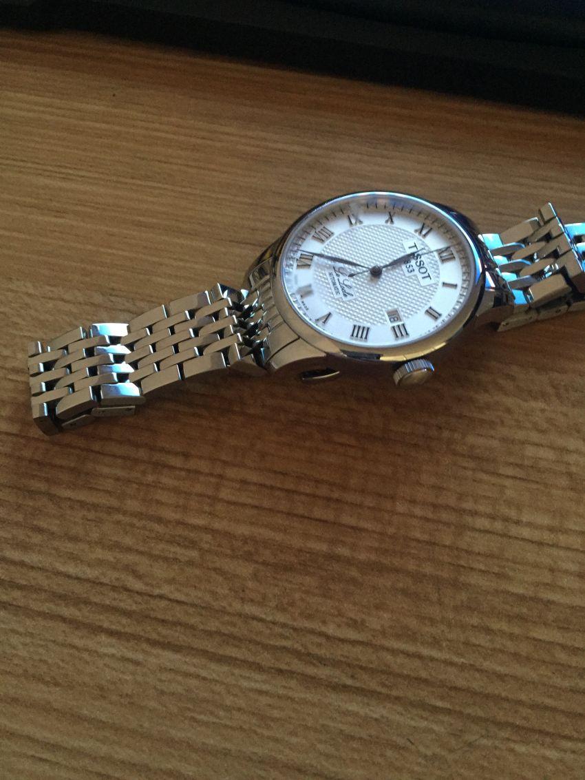天梭T41.1.483.33手表【表友晒单作业】是正品,样...