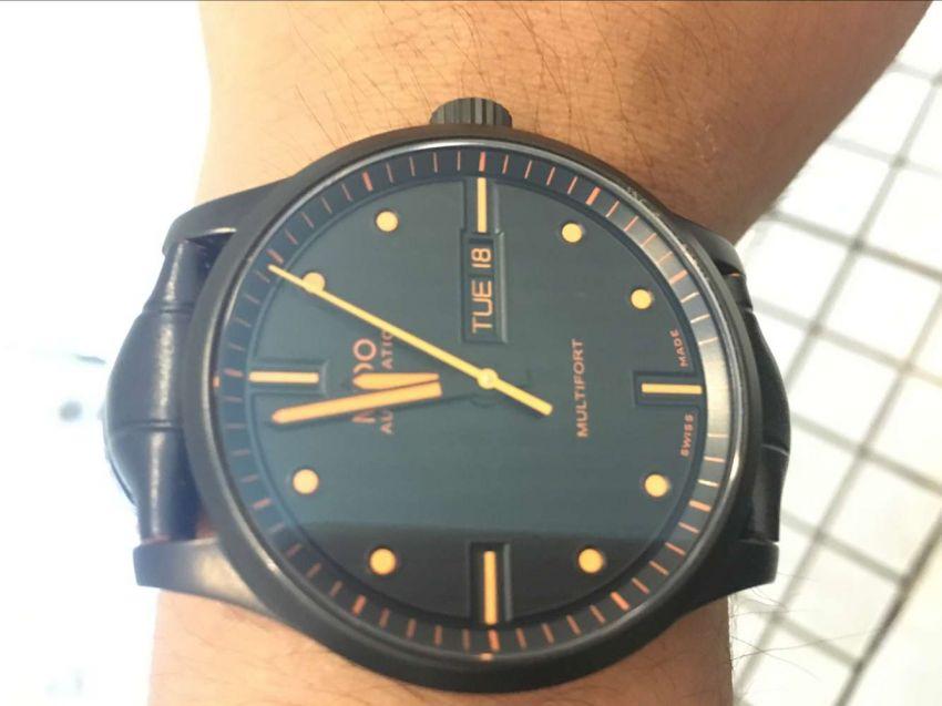美度M005.430.36.051.80手表【表友晒单作业】带上去逼格...