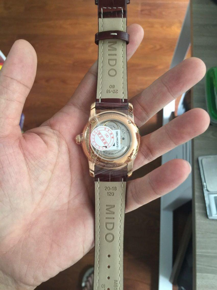 美度M8600.2.26.8手表【表友晒单作业】发货快,产...