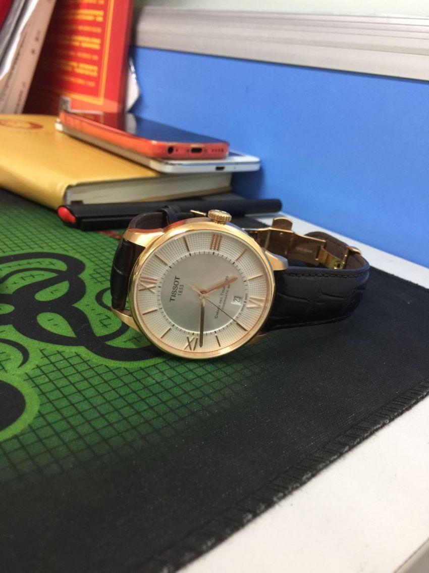 天梭T099.407.36.038.00手表【表友晒单作业】看上去还不...