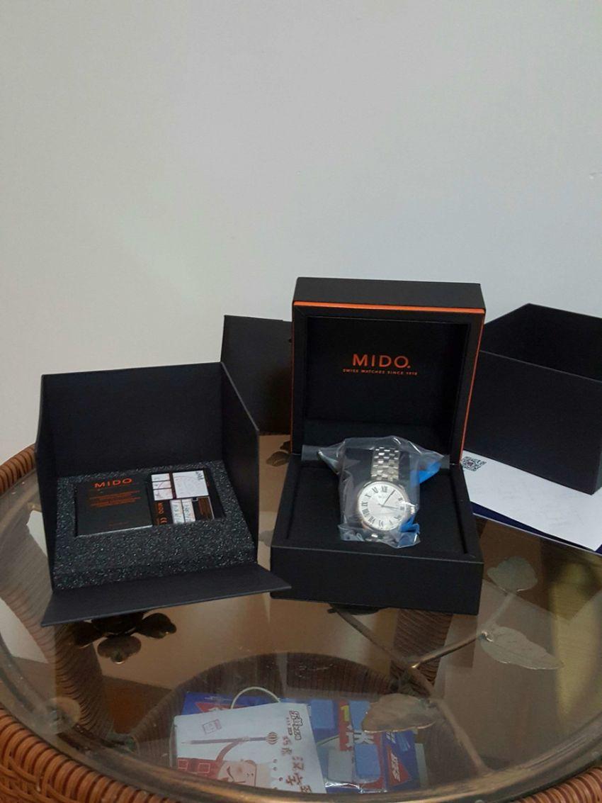 美度M024.407.11.033.00手表【表友晒单作业】包装售后都...