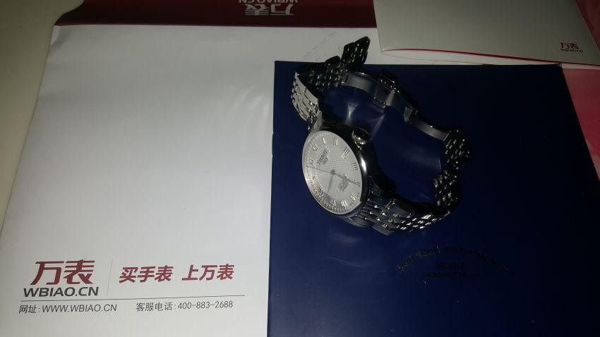 天梭T41.1.483.33手表【表友晒单作业】手表很漂亮...