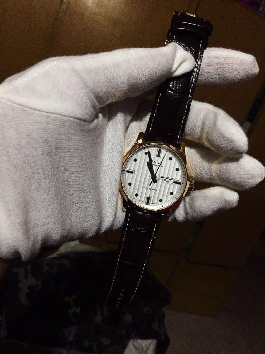 美度M005.430.36.031.80手表【表友晒单作业】非常满意的...