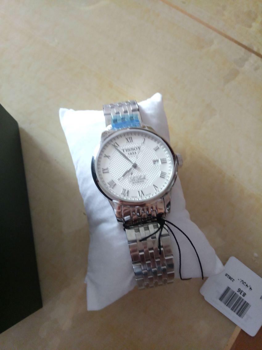 天梭T41.1.483.33手表【表友晒单作业】东西不错...