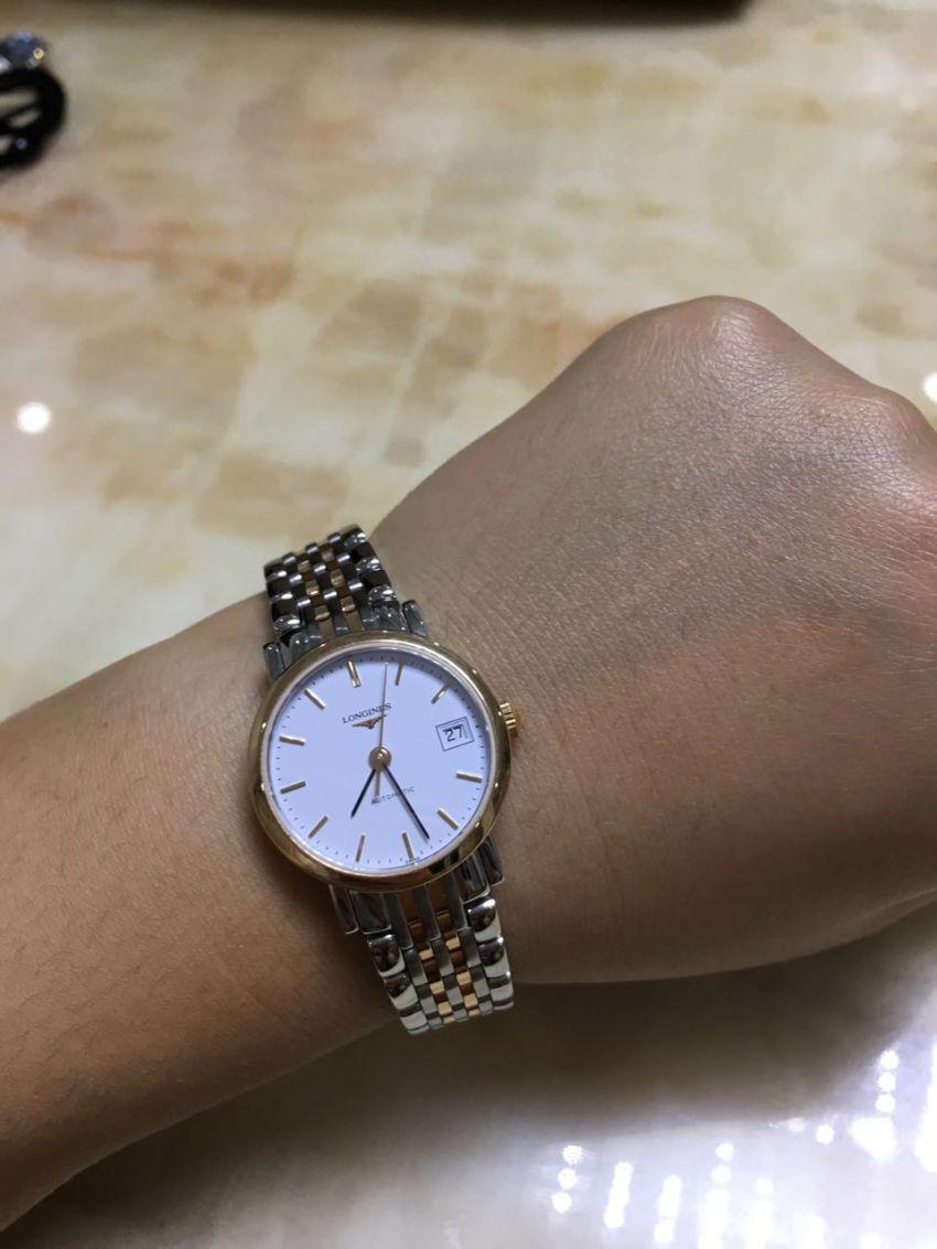 浪琴L4.309.5.12.7手表【表友晒单作业】在浪琴店看...