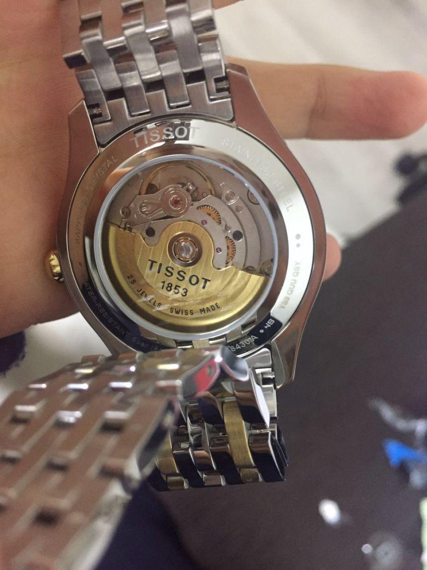 天梭T038.430.22.037.00手表【表友晒单作业】包裹很严,...