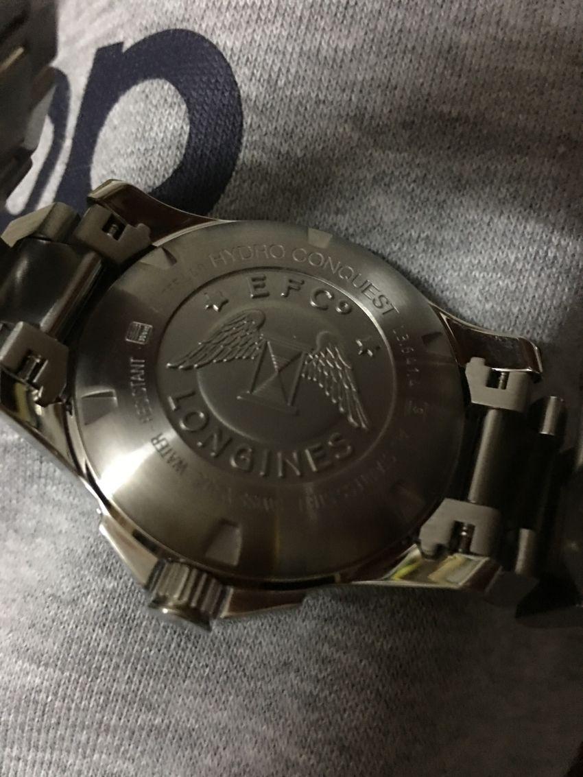 浪琴L3.641.4.96.6手表【表友晒单作业】第一次在万...
