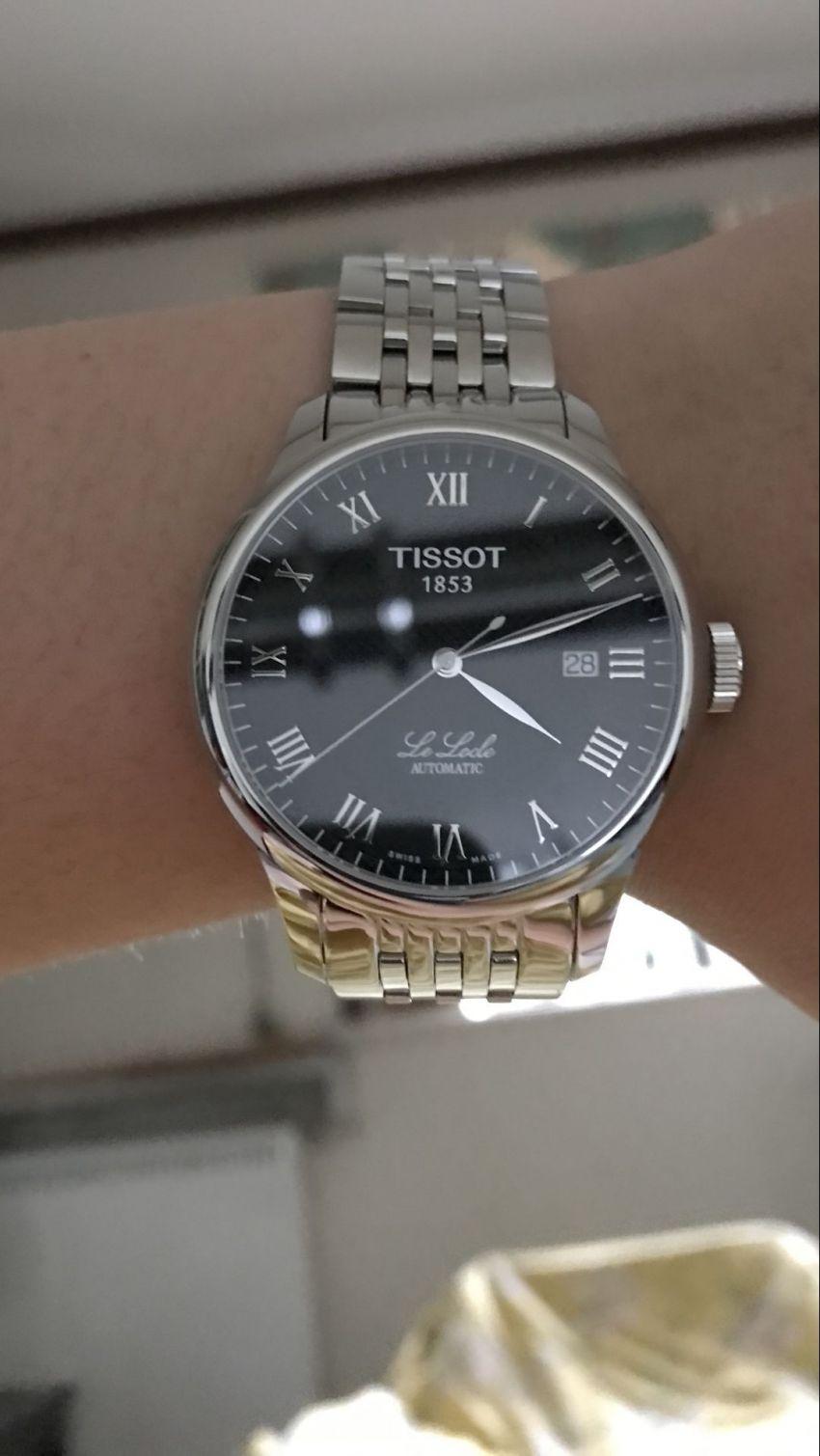 天梭T41.1.483.53手表【表友晒单作业】是正品 带...