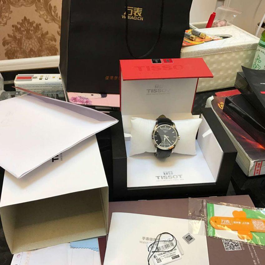 天梭T035.407.16.051.00手表【表友晒单作业】很喜欢这款...