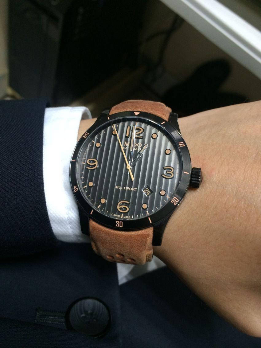 美度M025.407.36.061.10手表【表友晒单作业】美度新机芯...