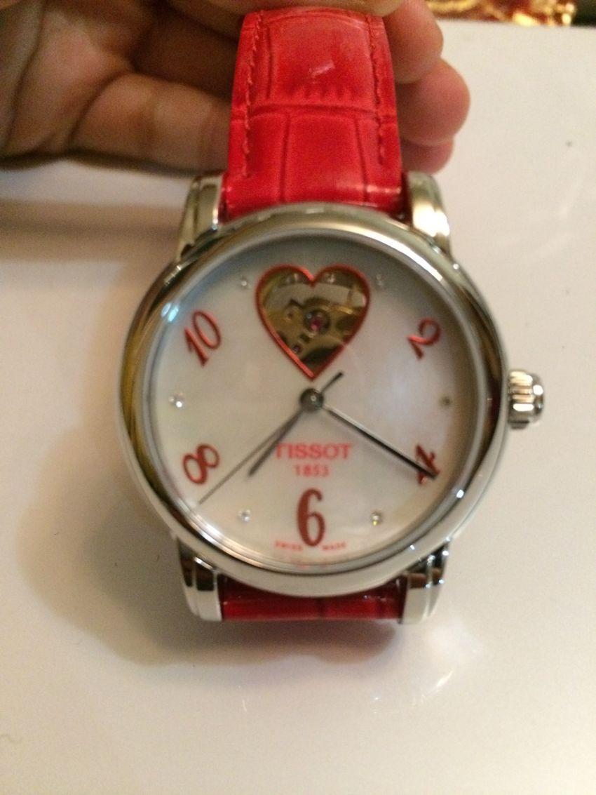 天梭T050.207.16.116.02手表【表友晒单作业】买之前还是...