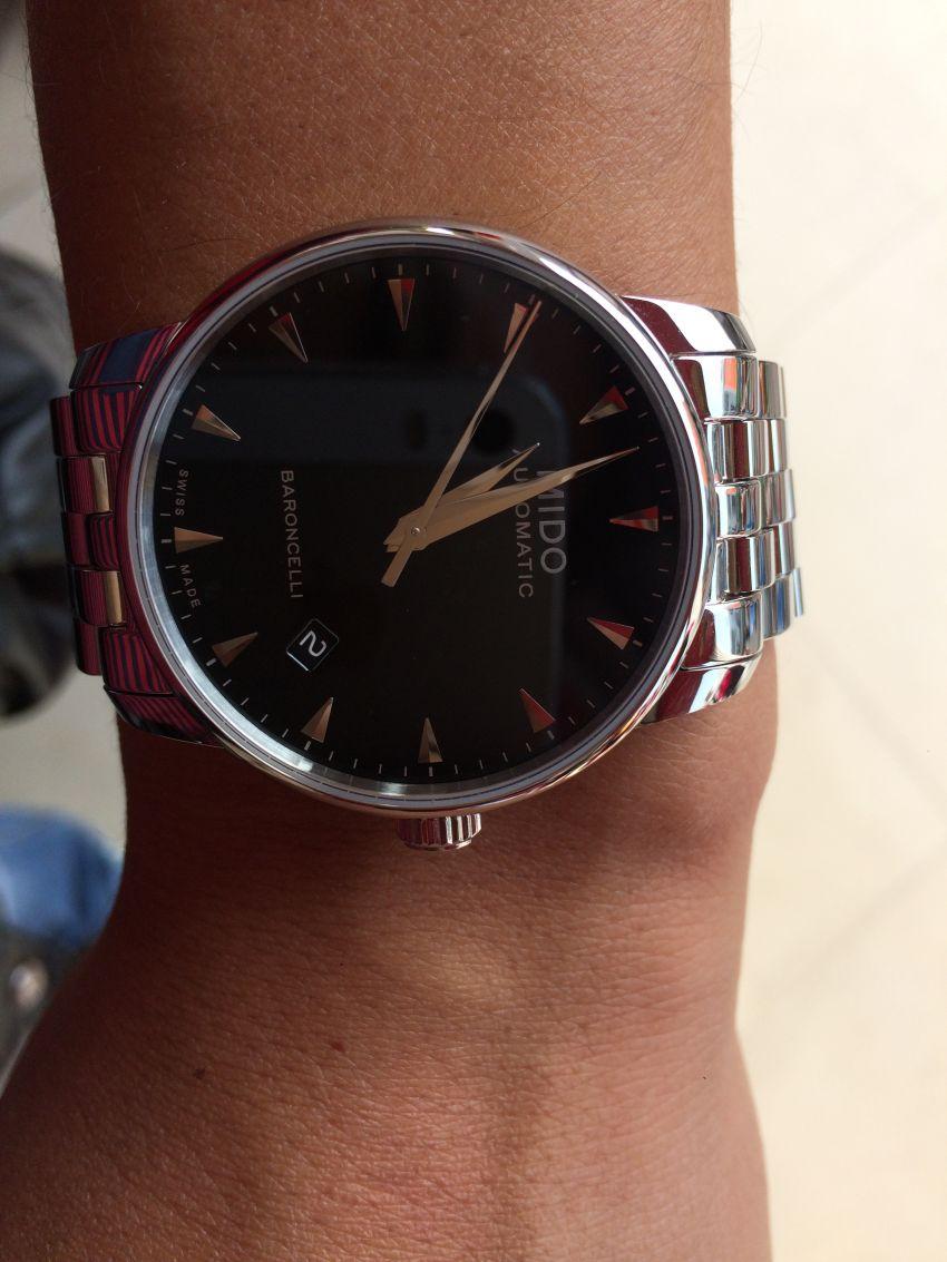 美度M8600.4.18.1手表【表友晒单作业】看了好久,...
