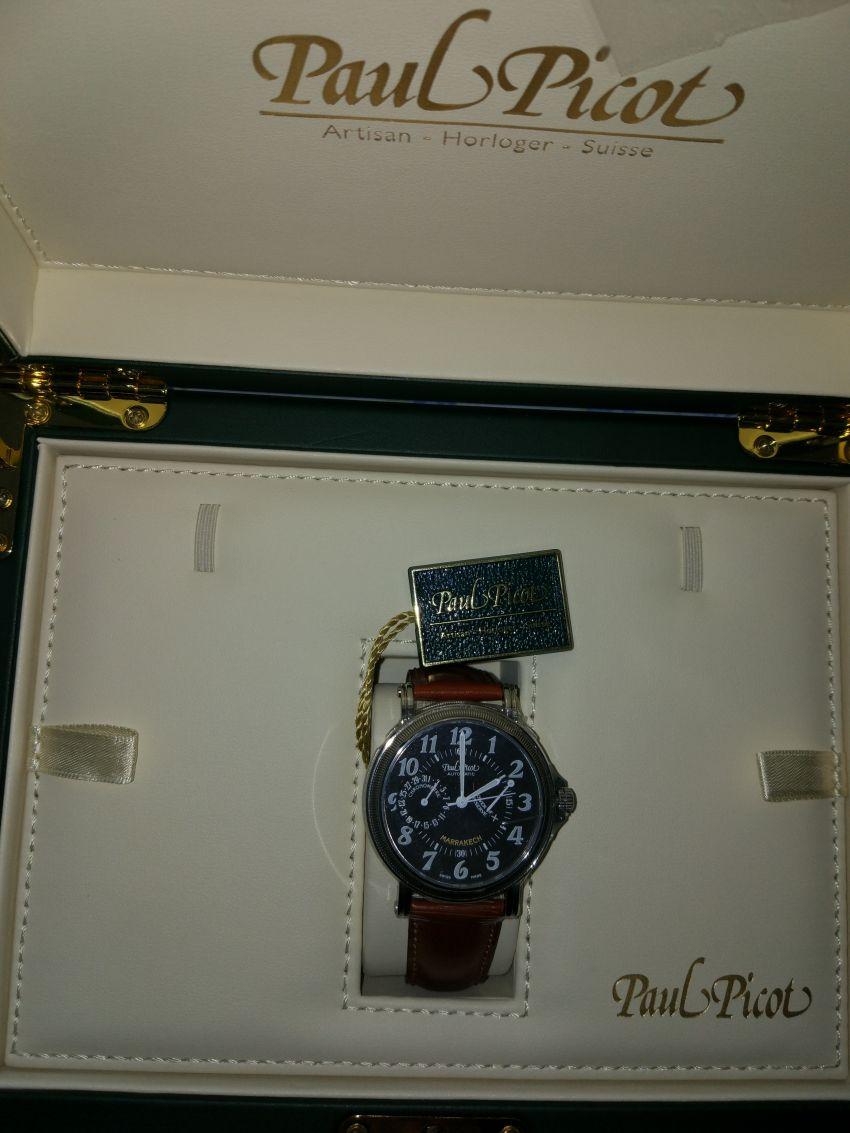 柏高P7011.20.363V021手表【表友晒单作业】这块表很好...