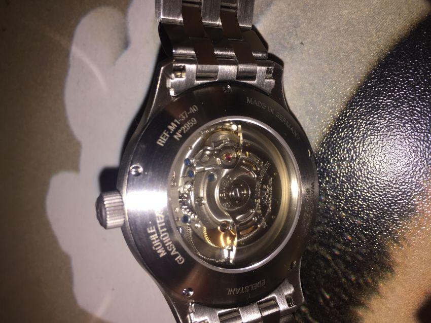 格拉苏蒂·莫勒M1-37-44-MB手表【表友晒单作业】手表很满意...