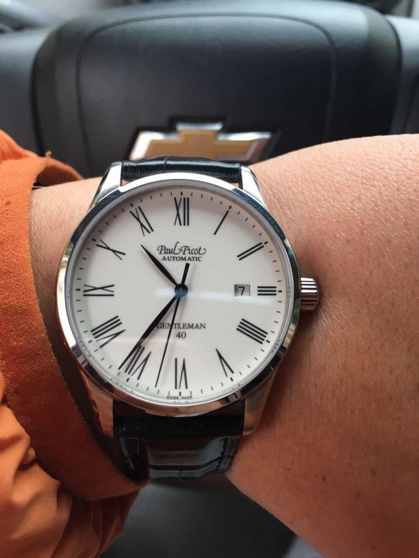 柏高P4104.SG.1021.1106手表【表友晒单作业】表看的很低...