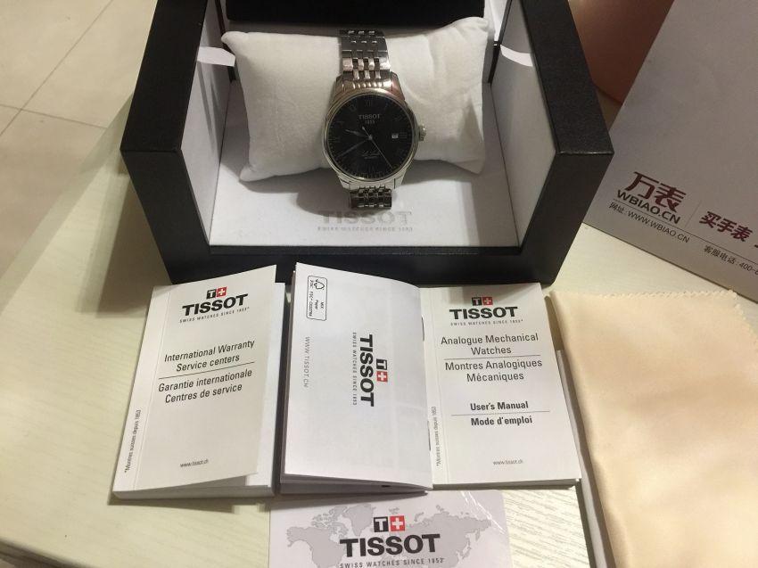 天梭T41.1.483.53手表【表友晒单作业】万表网值得...
