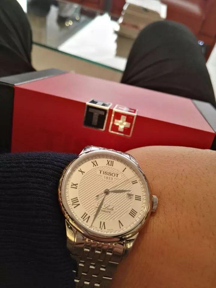 天梭T41.1.483.33手表【表友晒单作业】表很精致,...