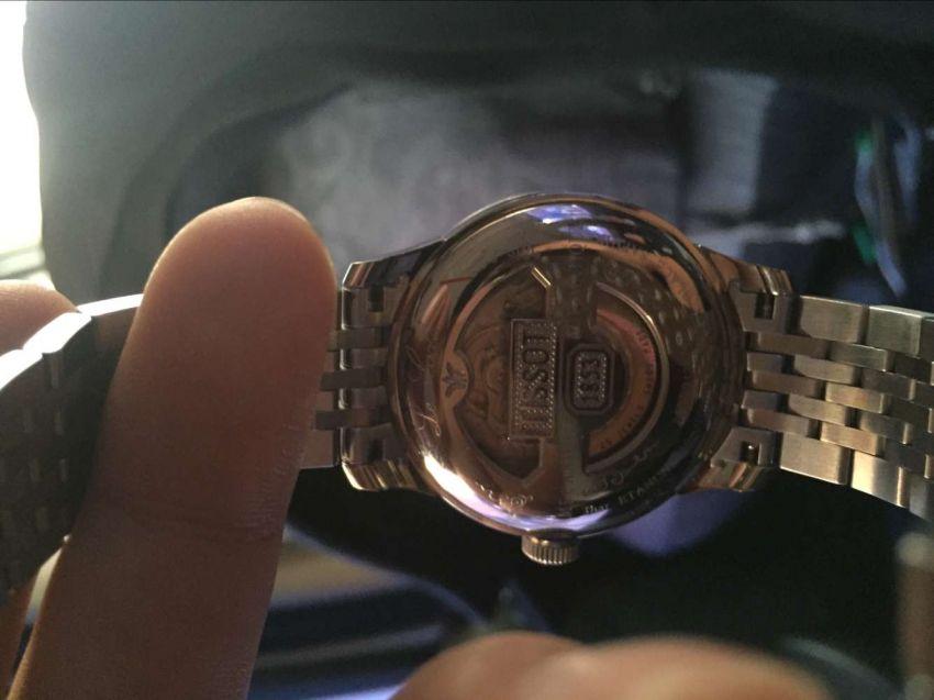 天梭T41.1.483.33手表【表友晒单作业】手表不错!...